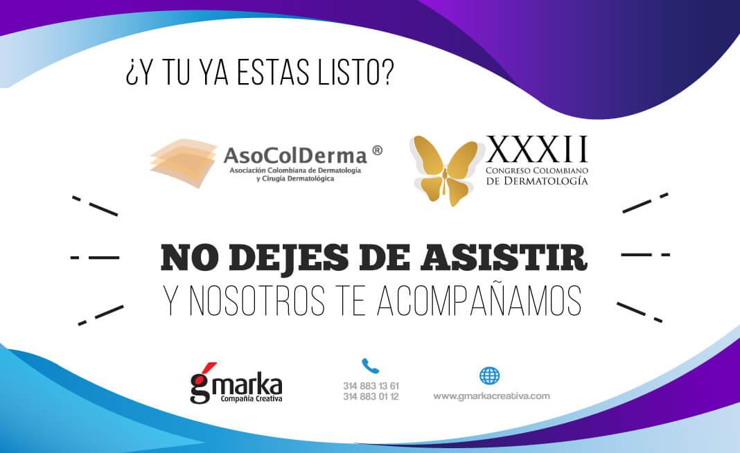 Congreso Colombiano de Dermatología - Evento salud de la piel